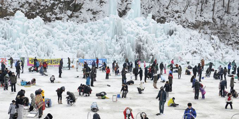 Favorite Korea Winter + Soyanggang Skywalk & Ice Fishing Festival