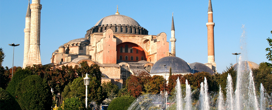 Favorite Turkey + Hagia Sofia & Bosphorus Cruise