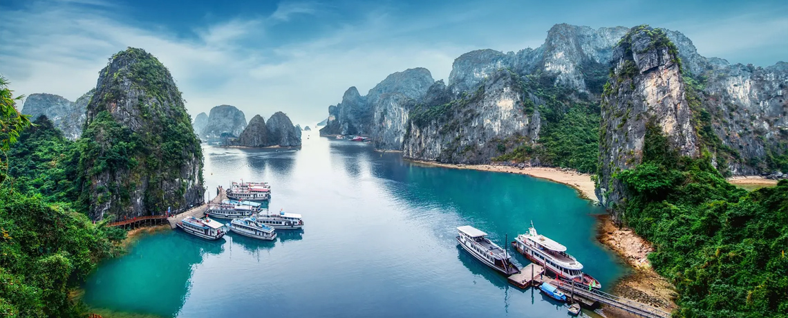 Favorite Vietnam + Ha Long Bay & Mekong Delta