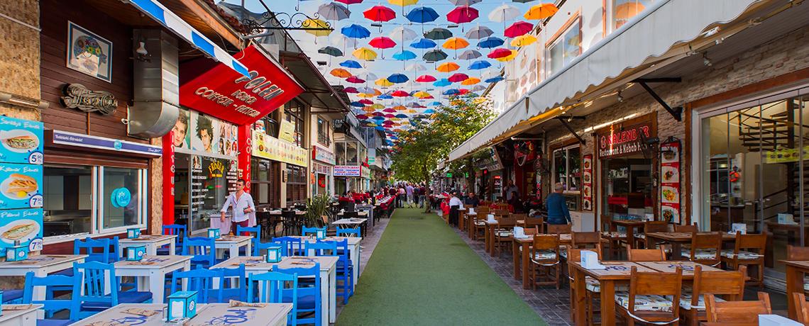 Explore Turkey + House Of Carpet & Umbrella Street