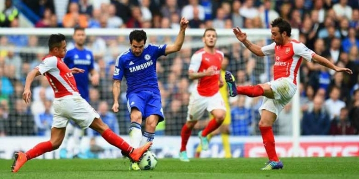 Lihat England Football Match Chelsea Vs Arsenal