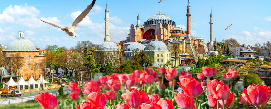 Explore Turkey + Cotton Castle & Tulip Festival