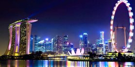 Lihat Singapore Honeymoon Package With Frame  A Trip