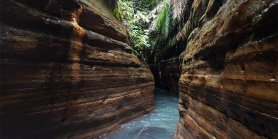 Open Trip Curug Putri (Little Green Canyon)