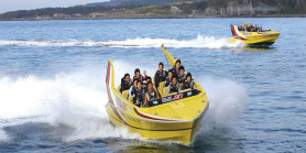 Favorite Korea Jeju Lotte + Shinhwa World & Jet Boat Experience