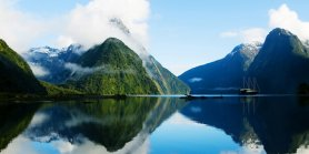 Lihat New Zealand Fiords & Glacier