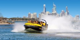 Favorite Gold Coast + Paradise Jet Boating & Fire 4 Hire