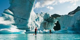 Lihat New Zealand Flords Glacier