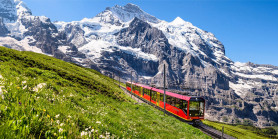 Relaxing Switzerland by Train